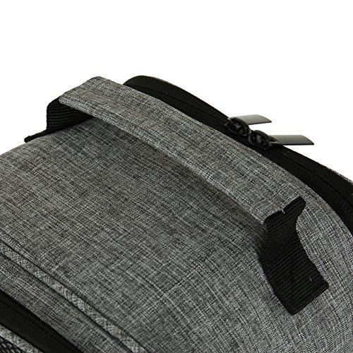 VASCO Shoe Travel Bag – Zipper Bags – Suitable as Shoe Gym Bag – For Men & Women - Gray by Vasco (Image #2)