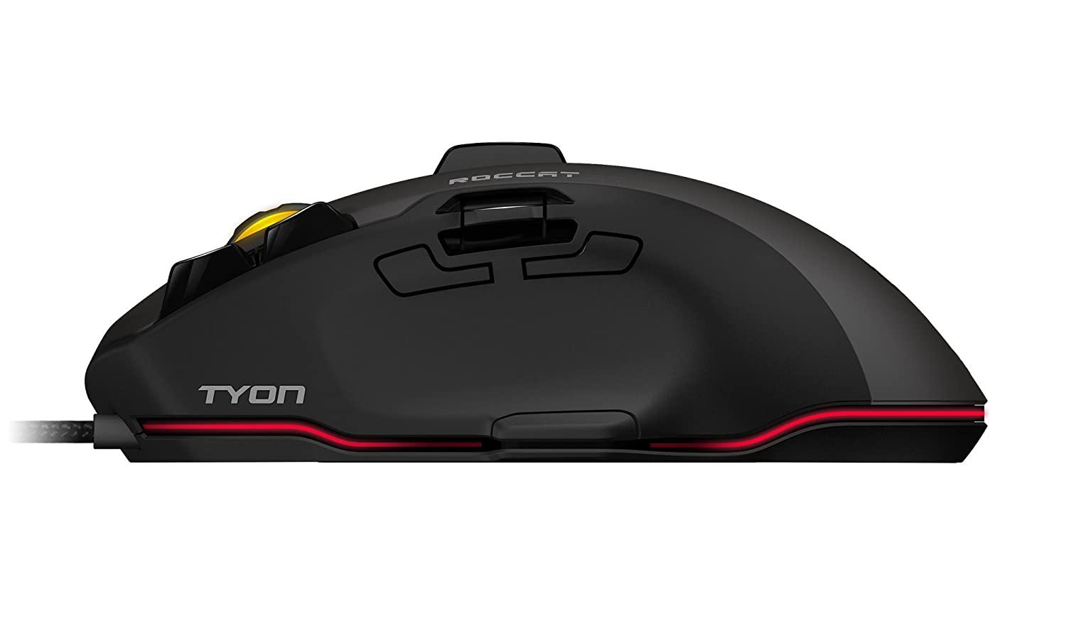4800d888a65 Amazon.com: ROCCAT Tyon Black - All Action Multi-Button Gaming Mouse:  Computers & Accessories