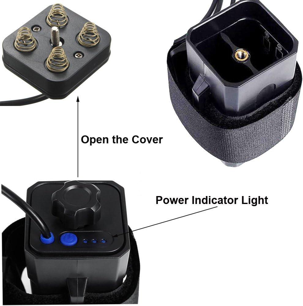 8.4V Waterproof USB 4x 18650 Battery Storage Case Box For Bike LED Smart Phone