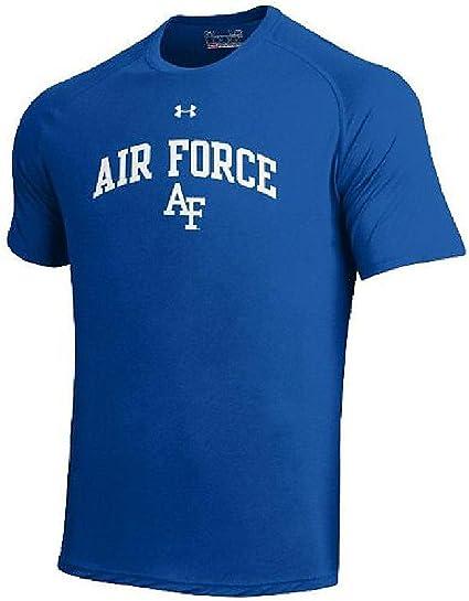 Under Armour Air Force Falcons Royal Poly Dry HeatGear NuTech Performance Shirt