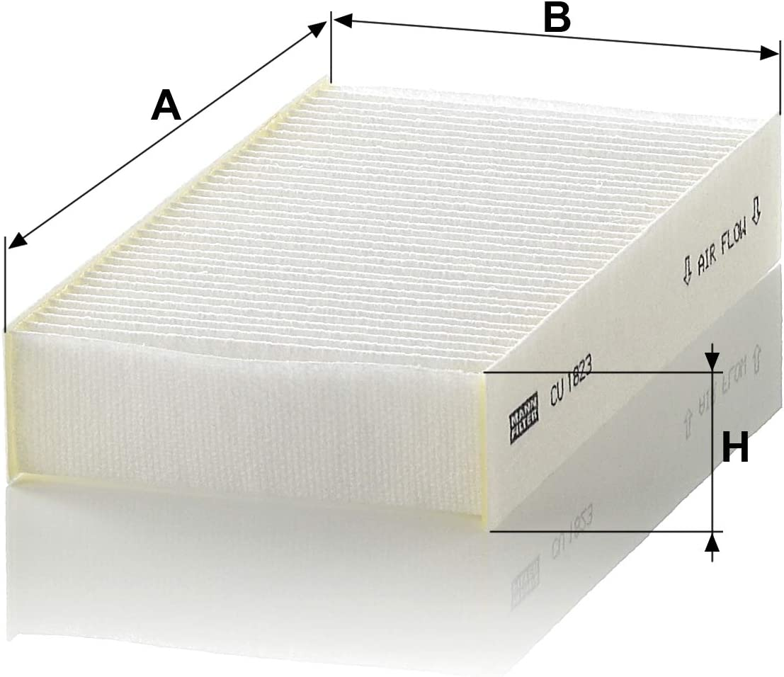 Mann Filter CU 1823 Filtro aire habit/áculo