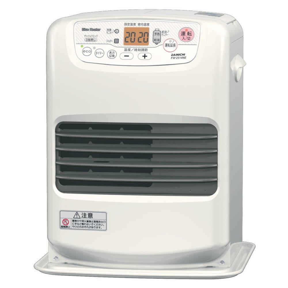 ダイニチ 家庭用石油ファンヒーター NEタイプ ウォームホワイト FW-2514NE-W B00N4FR77C