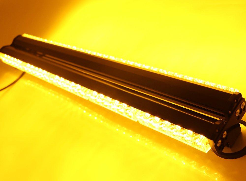 HEHEMM 180/W 60/LED de voiture camion durgence Trafic Advisor avertissement stroboscope Barre magn/étique 12/V