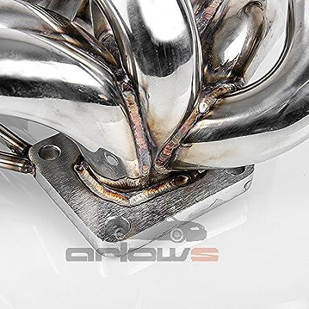 Escape - Colector Toyota Supra MK3 Twins Croll (Tubo - Colector, T4 Brida): Amazon.es: Coche y moto