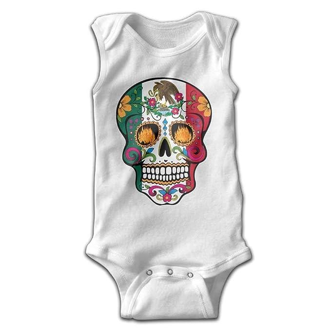 Amazon.com: Bebé niña niño México bandera detalle mexicano ...