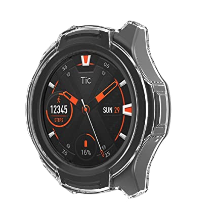 Amazon.com: SPGuard Compatible with Ticwatch S2 Case ...