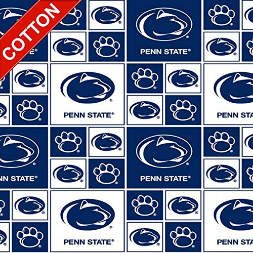 Penn State University Nittany Lions NCAA Cotton Fabric - 45
