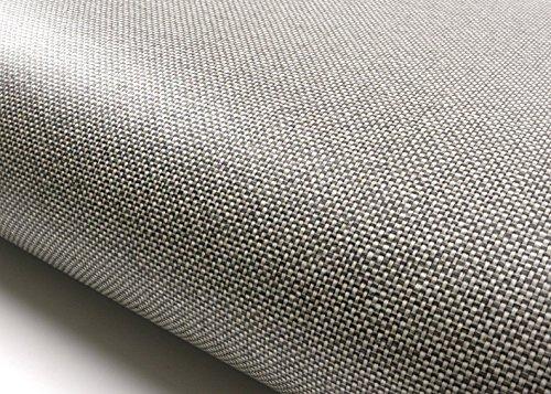 Fabric Texture Wallpaper - ROSEROSA Peel & Stick Backsplash Textile Fabric Textured Vinyl Contact Paper Self-adhesive Wallpaper Shelf Liner Table and Door Reform (AB014 : 2.00 Feet X 6.56 Feet)