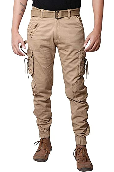 Verticals Stylish And Trendy Dori Style Cargo Jogger Pants For Men