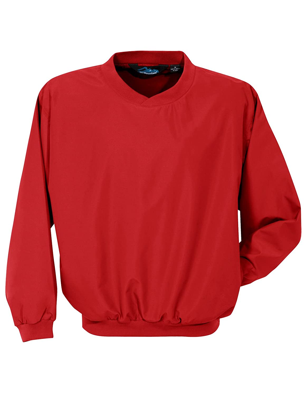 Tri-Mountain 2500 Microfiber windshirt with nylon lining