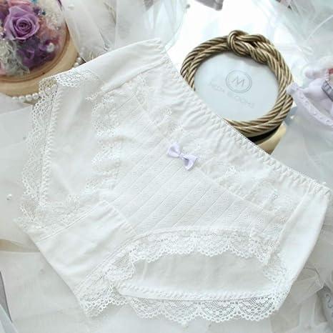 JFHGNJ Lindas Bragas de algodón Tallas Grandes para Mujeres con ...
