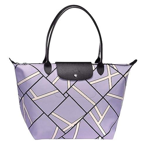 Borsa Donna Amazon E it Borse Lilla L Viola Scarpe Tote Longchamp 1xawqpd1