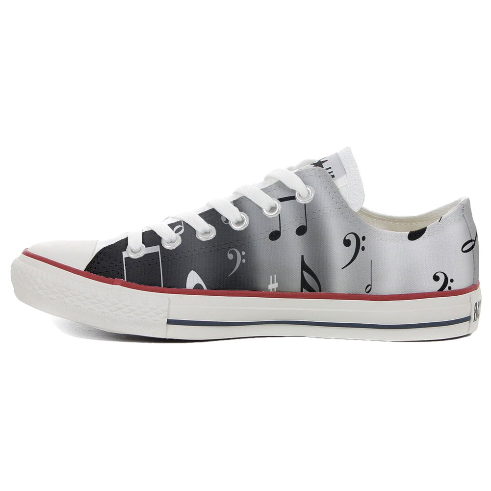 Converse All Star personalisierte Schuhe - Handmade schuhe - - - Musical Notes 6ddae6