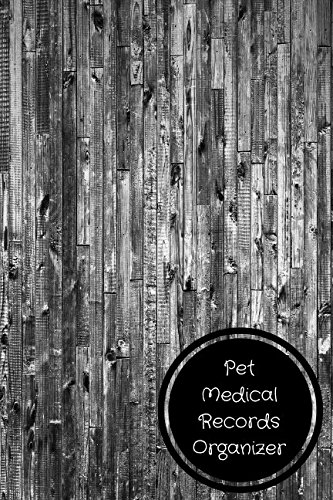 Pet Medical Records Organizer: Pet Log Book pdf