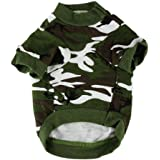 Howstar Pet Clothes, Dog Camouflage T Shirt Puppy Camo Tee Apparel