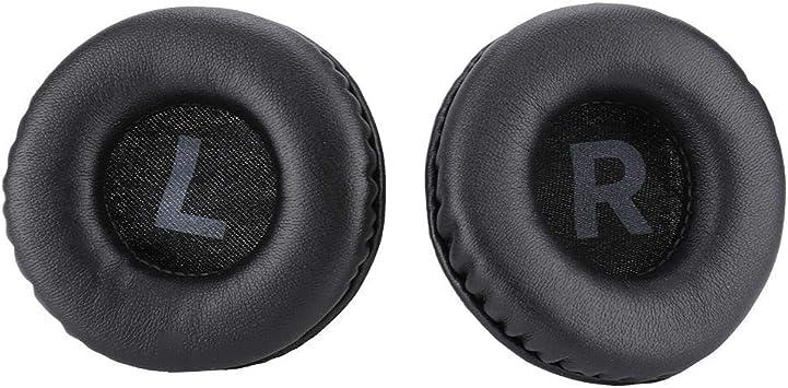 Lazmin 2pcs / Pair 75mm Almohadillas de oído universales, Auriculares de Cuero Espuma de Auriculares Grandes Orejeras Auriculares Auriculares 7.5cm Almohadillas de algodón Fundas de colchón: Amazon.es: Electrónica