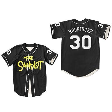 borizcustoms Vitar Benny  The Jet  Rodriguez 30 Baseball Jersey The Sandlot  Colors XS- 39f326d59