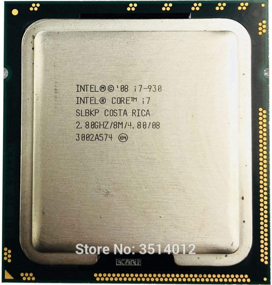 Intel Core I7-930 I7 930 2.8 GHz Quad-Core CPU Processor 8M 130W LGA 1366