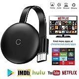 HDMI Inalámbrico Wi-Fi Pantalla Dongle, Pantalla Mirroring Stick De TV Incorporado En El Módulo Soporta 2.4Ghz WiFi, G12 Salida Full HD, para Android/Windows/iOS/Miracast/Airplay/DLNA: Amazon.es: Deportes y aire libre