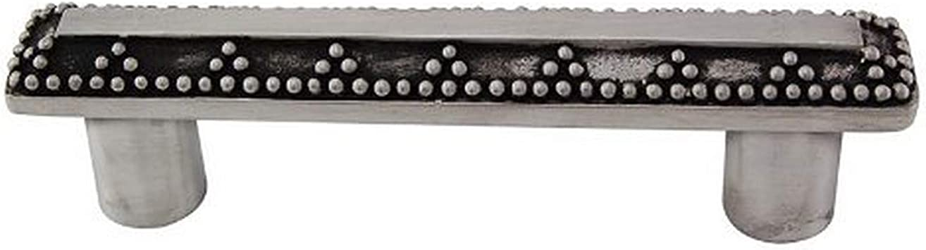Vicenza Designs P1144 Gioiello 3-Inch Elizabethan Pull Antique Brass