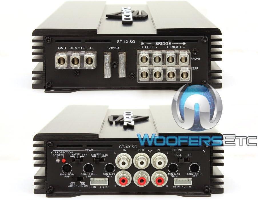 Zapco ST-4X SQ 4-Channel 380W RMS Class AB Amplifier