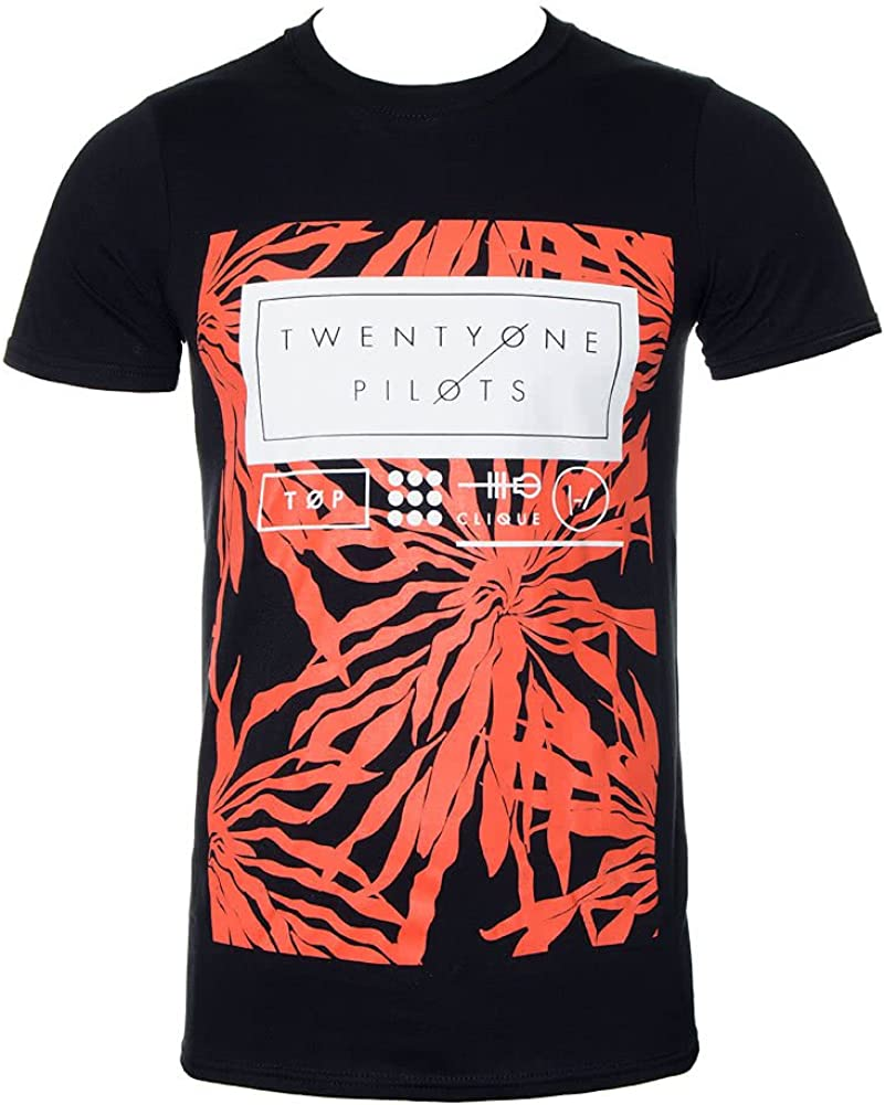 Twenty One Pilots Ride Board Rock Oficial Camiseta para Hombre: Amazon.es: Ropa y accesorios