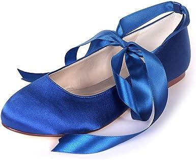 Moojm Donna Macchia Punta Chiusa Balletto Partito Scarpe Da Sposa