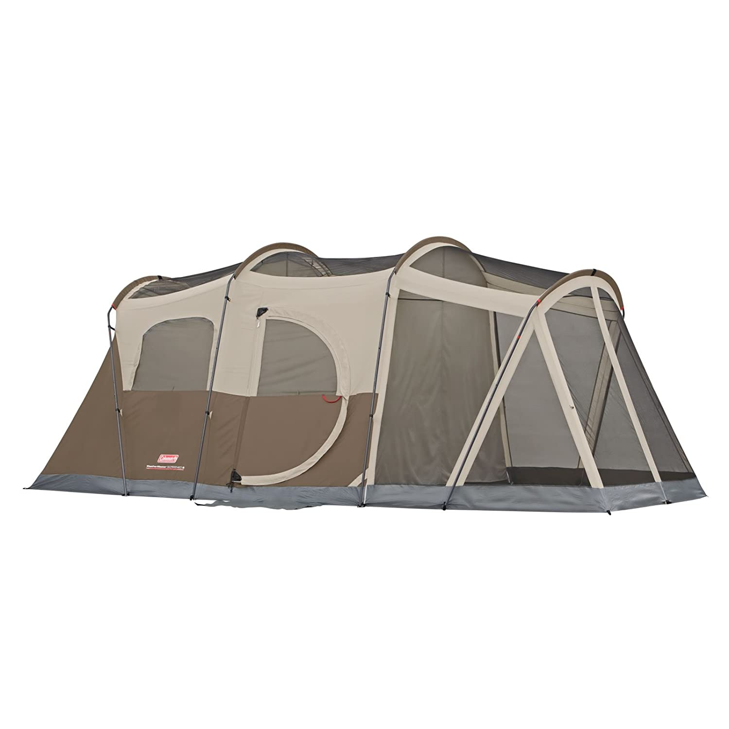 Amazon.com  Coleman WeatherMaster 6-Person Tent with Screen Room  Sports u0026 Outdoors  sc 1 st  Amazon.com & Amazon.com : Coleman WeatherMaster 6-Person Tent with Screen Room ...