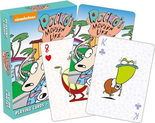 Aquarius Rocko `s Modern Life Playing Cards