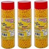 Captain Red Fruit Balls, Mango, 125g (Pack of 3)