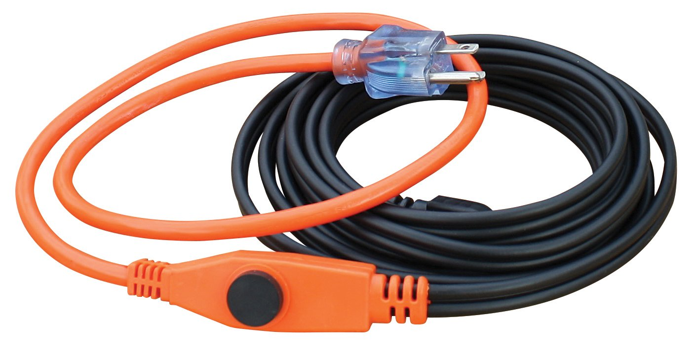 Prime Wire & Cable PHC84W12 DE-ICING CABLE WATER PIPE FREEZE PROTECTION by Prime Wire & Cable