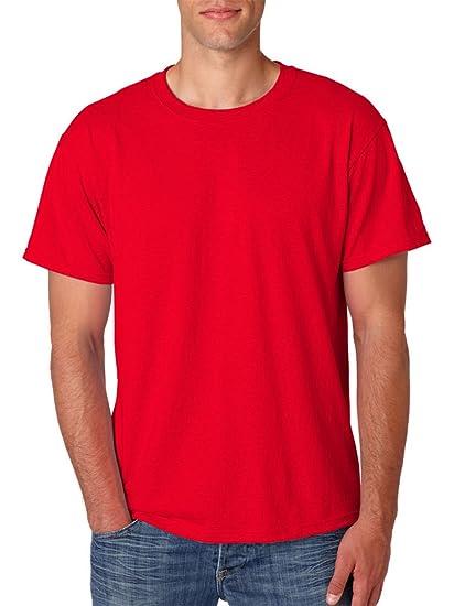 2c9f90fb Jerzees 5.6 Oz., 50/50 Heavyweight Blend T-Shirt (29M)- True Red, X ...
