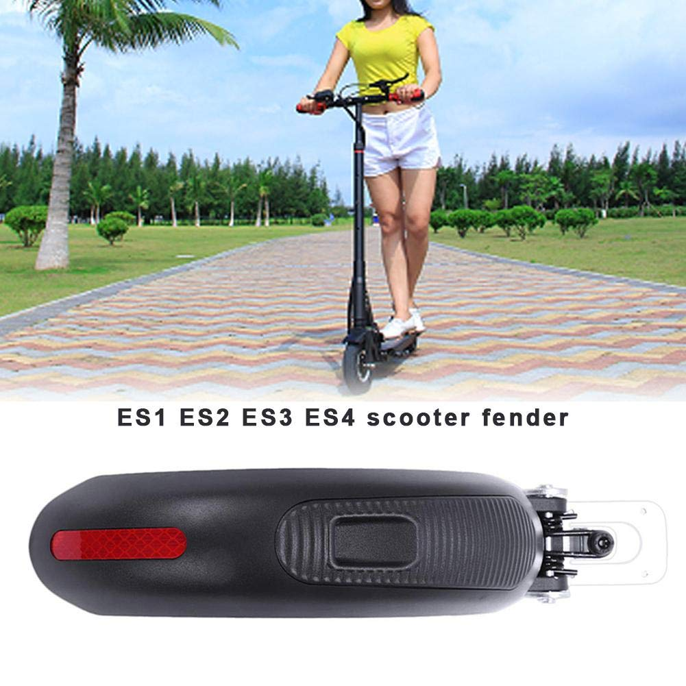 whenear Electric Scooter Fender Wear Resistant Scooter Aluminum Alloy Baffle Replacement Parts for ES1 ES2 ES3 ES4 Scooter