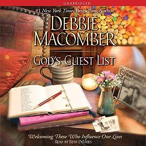 God's Guest List Audiobook