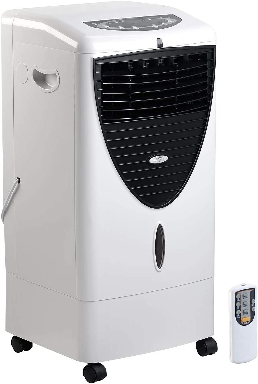 Geruchspartikel Timer silber Luftkühler Klimagerät Oszillation Filter Staub