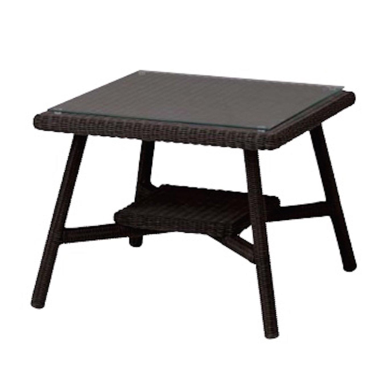 ガーデン家具 カフェテーブル600 ダークブラウン B011N30KHK