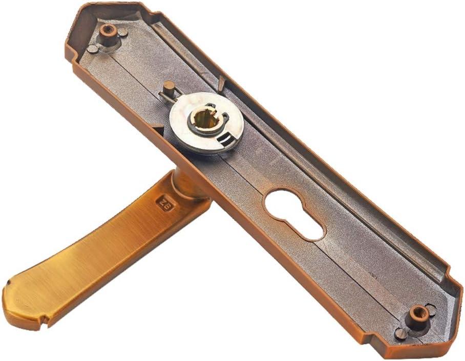 Anti-Collision Mute Lock Body Bearing Handle Lock for Living Room Doors Wood Doors Zinc Alloy Material Door Lock Door Lever Latch Lock