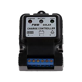 0eb42faf02ec45 MagiDeal 6V 12V 10A Auto Switch Batterie Panneau Solaire Régulateur  Contrôleur de Charge