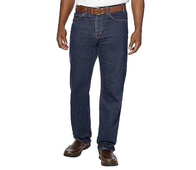 cdc41828be5 Kirkland Signature Authentic Jeans Wear Men s 5-Pocket Blue Jean at Amazon Men s  Clothing store