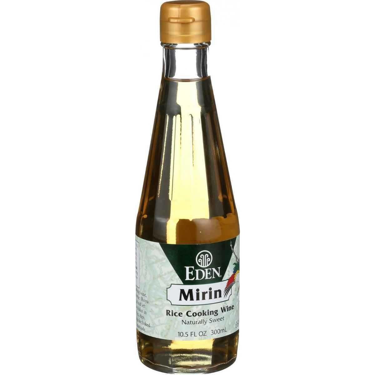 Eden Foods Mirin - Rice Cooking Wine - 10.5 oz - Case of 3