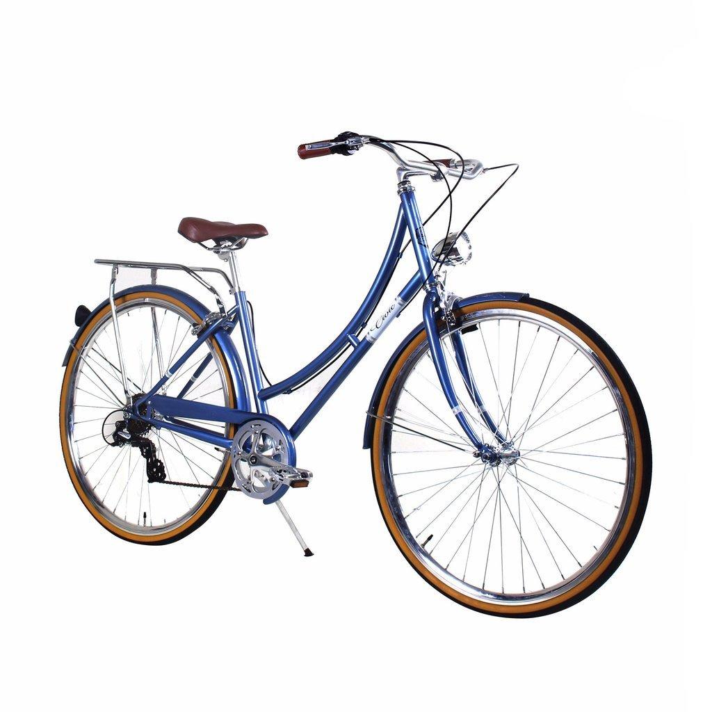 Zycle Fix 39 cmバイク7速度ギアレディースシビックシリーズ自転車 – Mistyブルー B01N5QH1UI