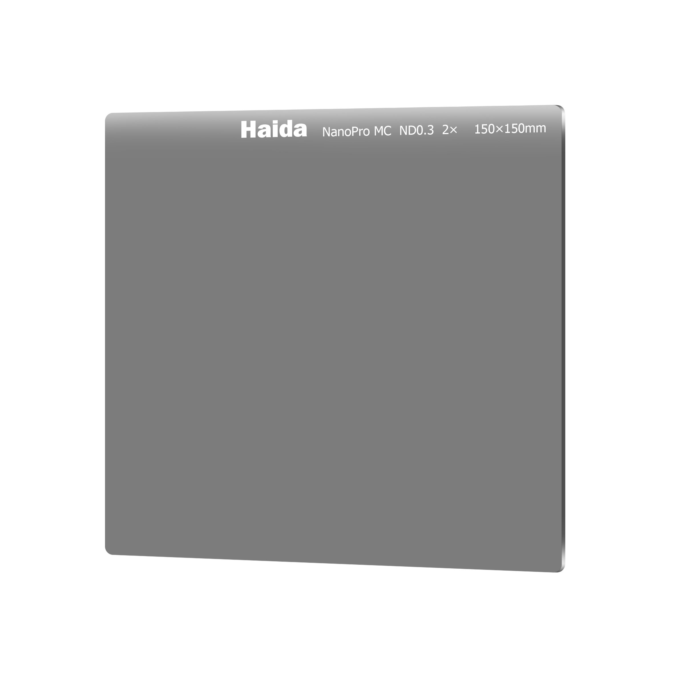 Haida NanoPro 150mm MC Neutral Density ND2 ND 0.3 Optical Glass Filter 150 1 Stop HD3320