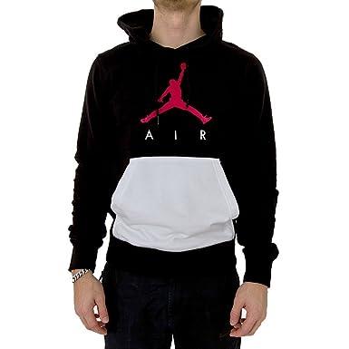 purchase cheap abf10 b91da Jordan Kapuzenpullover – Sportswear Jumpman Air Lightweight schwarz weiß rot  Größe  XS (