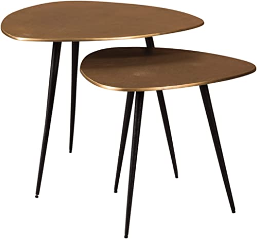 Signature Design by Ashley Cainthorne Accent Table Set, Brown Black