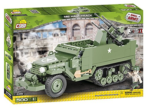 COBI Small Army M16 Half-Track Anti-Aircraft Gun