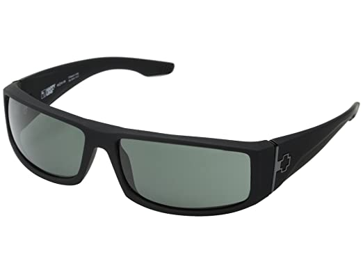 63cb39dbea Amazon.com  SPY OPTIC Mens COOPER Sunglasses - Matte Black   Grey ...