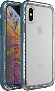 LifeProof Next Series Case for iPhone Xs & iPhone X - Non-Retail Packaging - Clear Lake