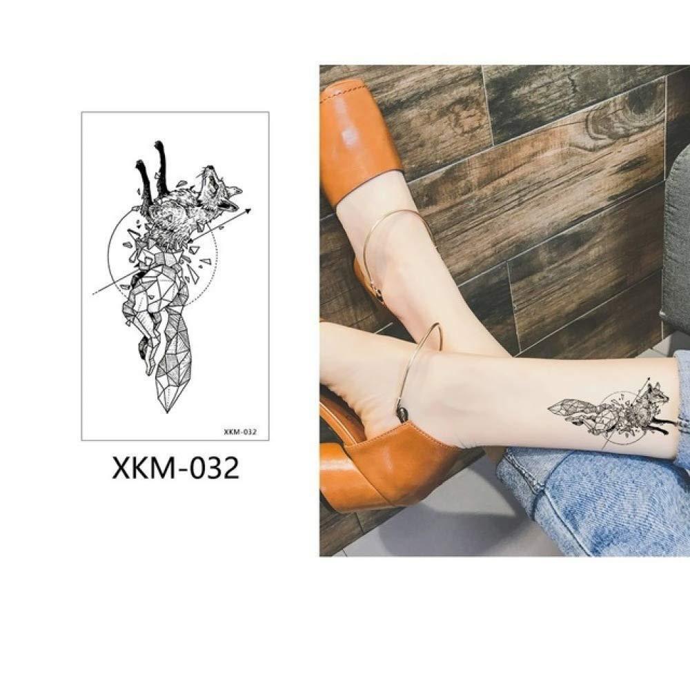 adgkitb 5pcs Colorido Tatuaje Temporal Pegatina Falso ...