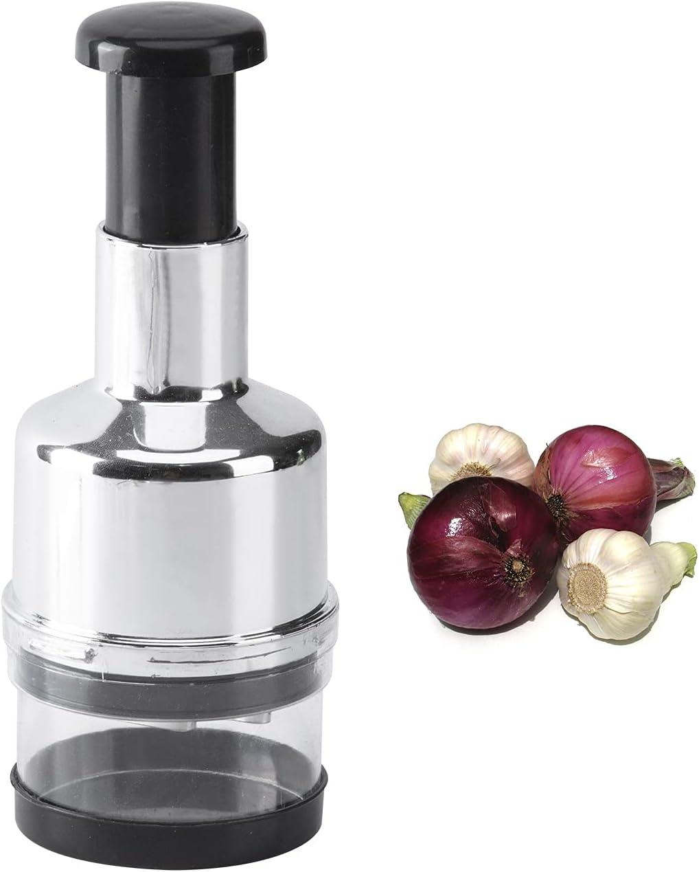 Food Chopper - Zerdie, Multi-Function Mincer, Manual Hand Dicer, Onion Chopper, Garlic Crusher, Vegetable Slicer, Fruit Cutter