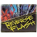 DC Comic Flash Reverse Flash Villain Blue ID & Card Bi-Fold Wallet